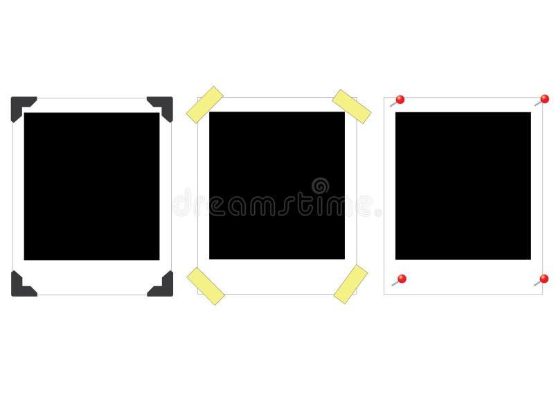 Polaroidcamera's royalty-vrije stock afbeeldingen