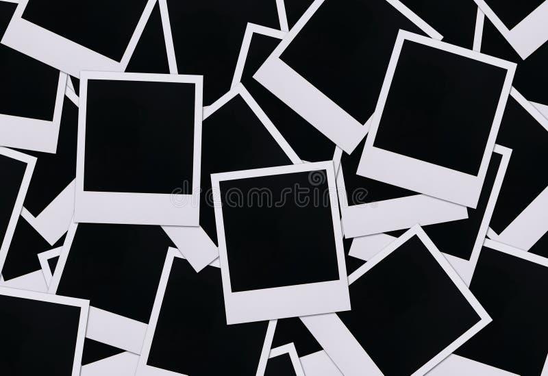 Polaroidfilmleerzeichen lizenzfreies stockfoto