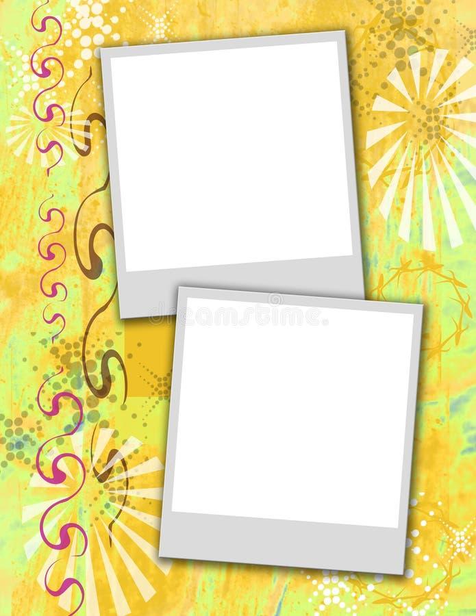 polaroidknäpp stock illustrationer