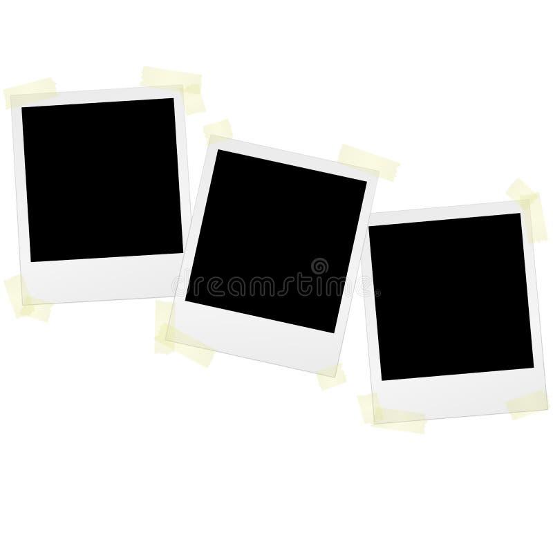 Polaroids με την ταινία απεικόνιση αποθεμάτων