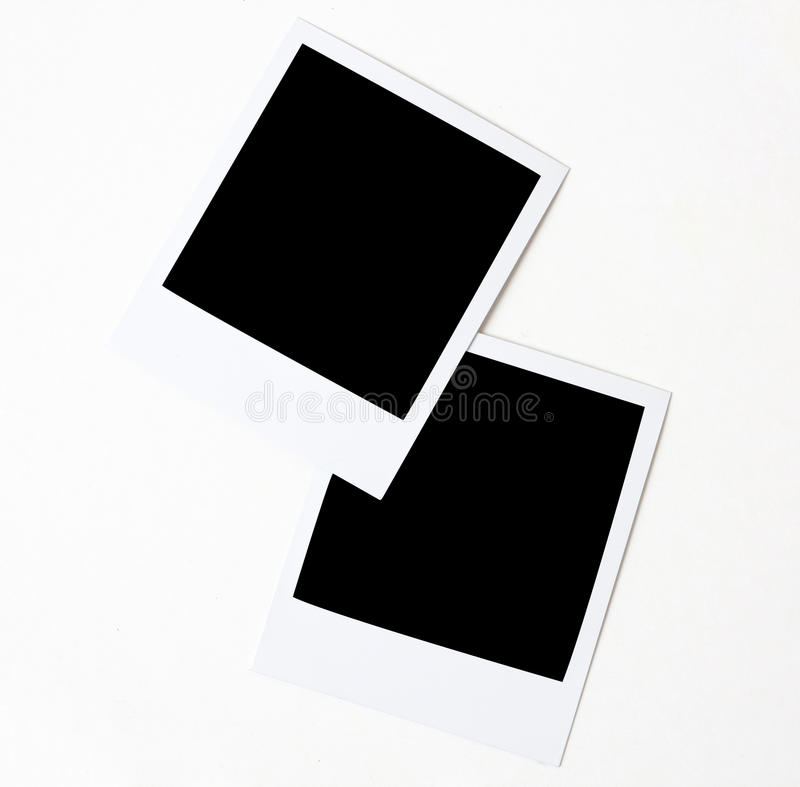 Polaroids fotografie stock