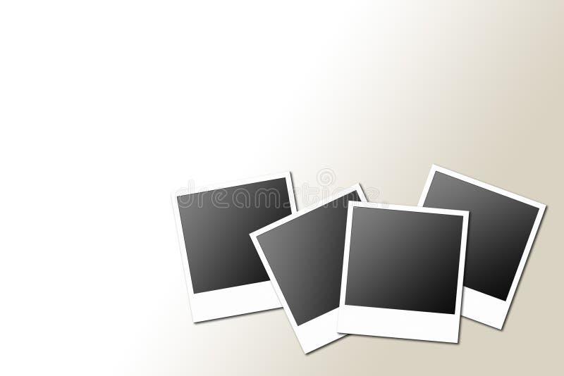 polaroids διανυσματική απεικόνιση