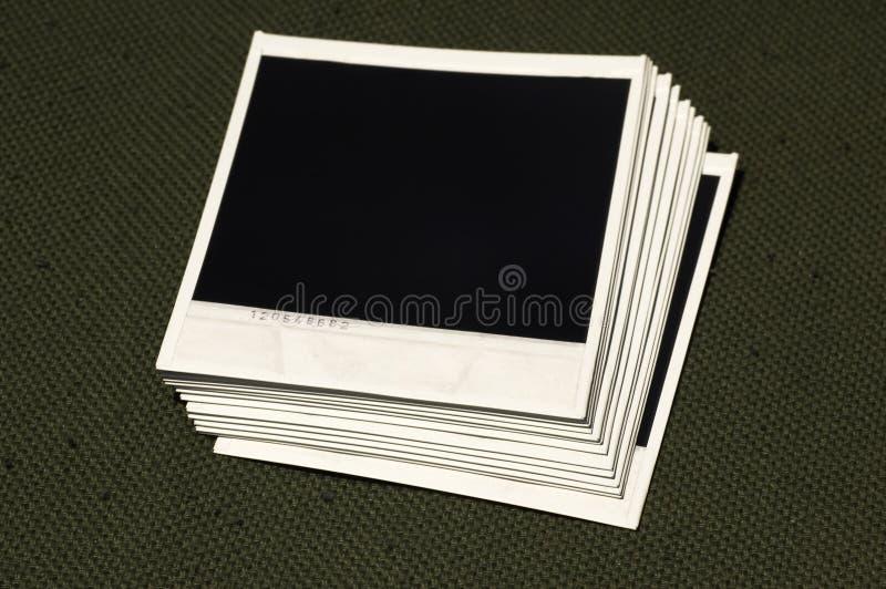 polaroids royaltyfria foton
