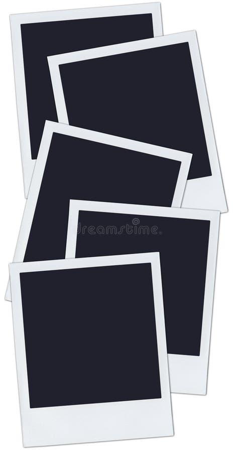 Polaroids vector illustration
