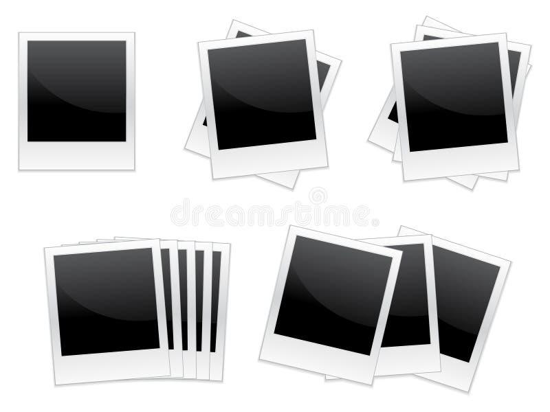 Polaroids / EPS Royalty Free Stock Image