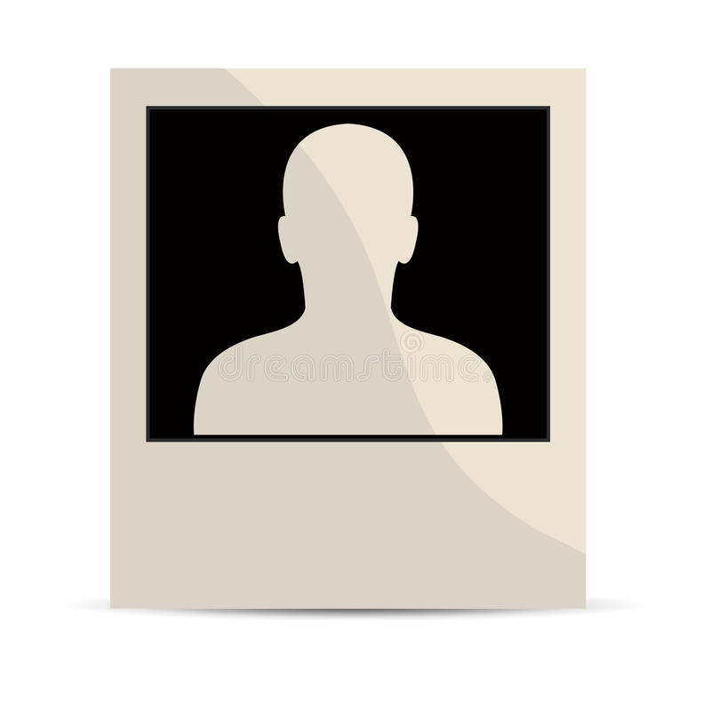 Download Polaroidu portret ilustracja wektor. Ilustracja złożonej z biznesmen - 28969120