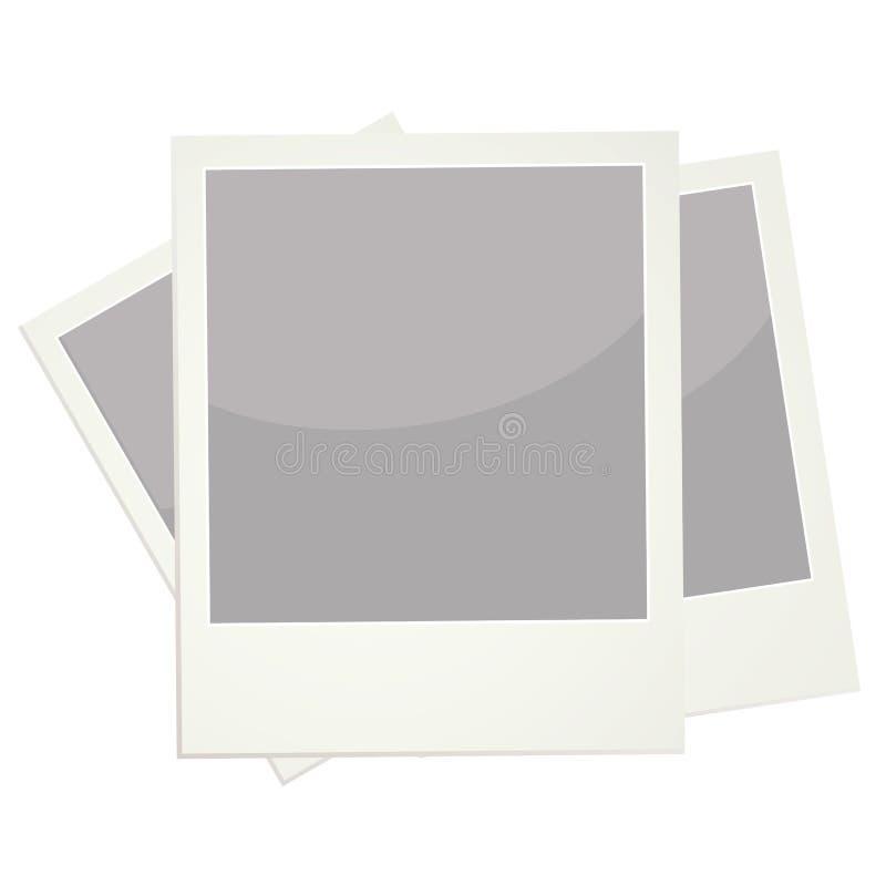 polaroidy ilustracja wektor