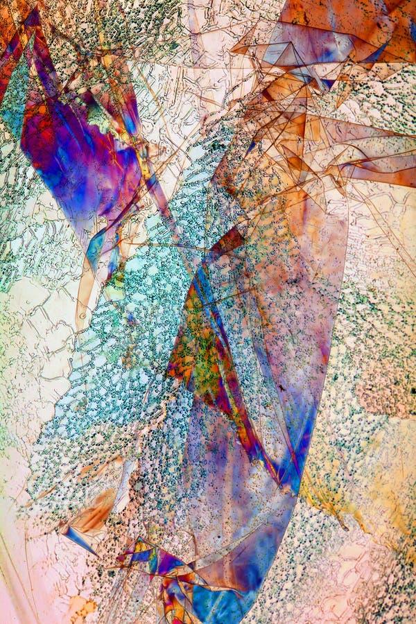 Polaryzująca folia ilustracja wektor