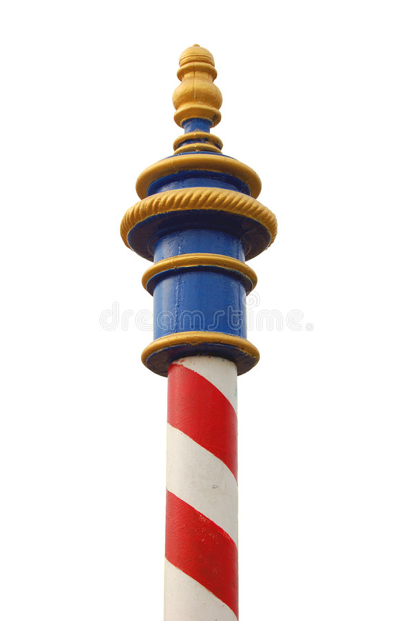 Download Pole stock illustration. Image of gold, pole, upright, vertical - 510556