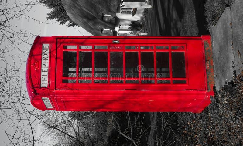 Pole Brytyjski Telefon Zdjęcie Royalty Free