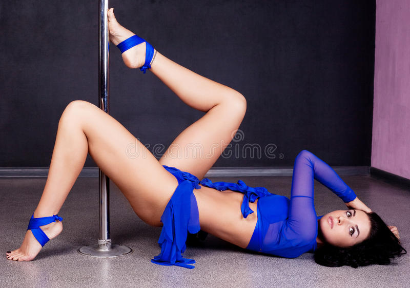 Download Pole dance woman stock image. Image of appeal, indoors - 22295119