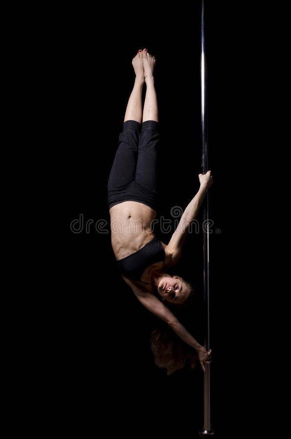 Download Pole dancer stock photo. Image of isolate, attractive - 22077150