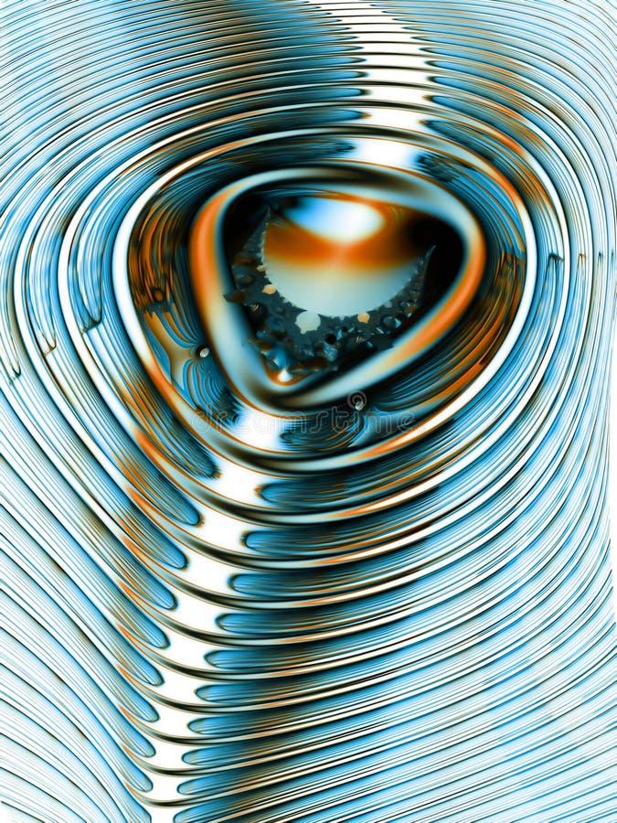 pole magnetyczne dynamiczne ilustracja wektor