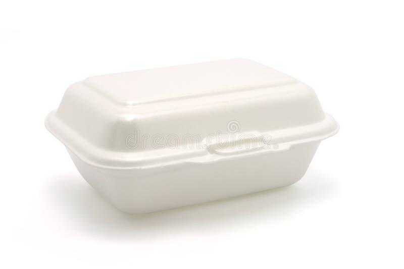 pole posiłek styropian zdjęcie stock