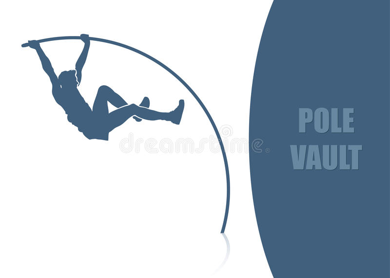 Download Pole vault background stock vector. Illustration of champion - 26576942