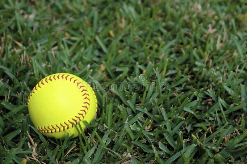 pole zewnętrzn softball obraz royalty free