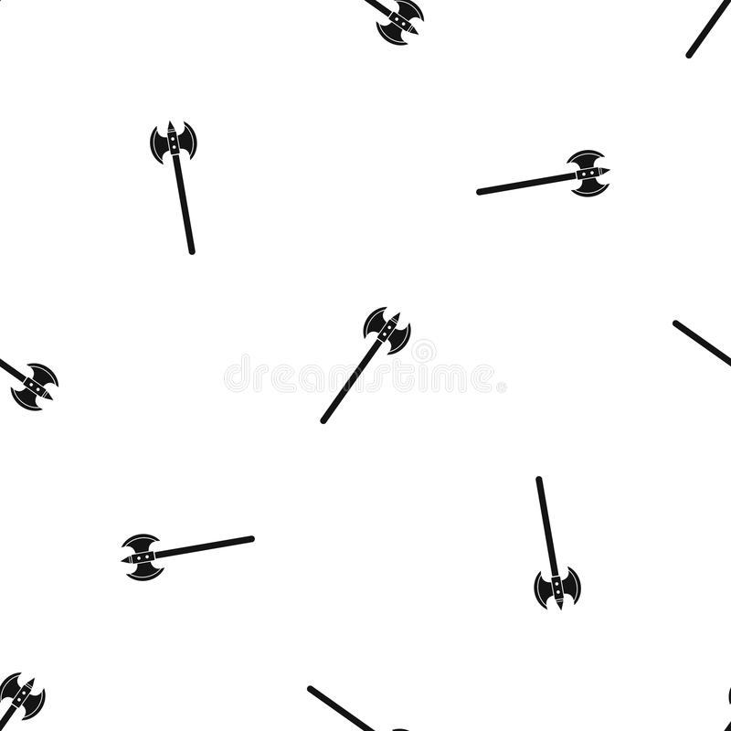 Poleaxe pattern vector stock vector  Illustration of history