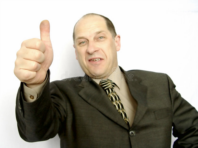 Download Polegares acima imagem de stock. Imagem de macho, feliz - 107999