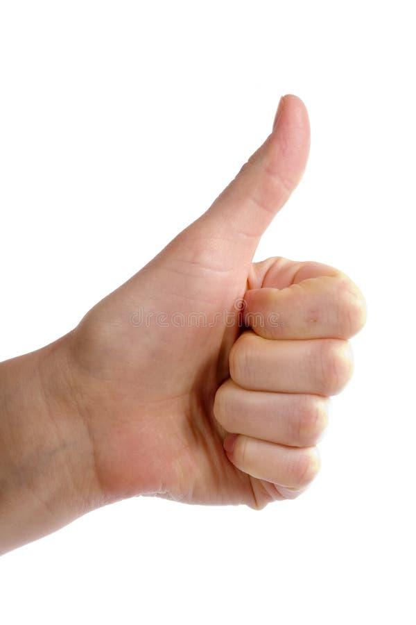 Download Polegares acima imagem de stock. Imagem de humano, recognition - 529559