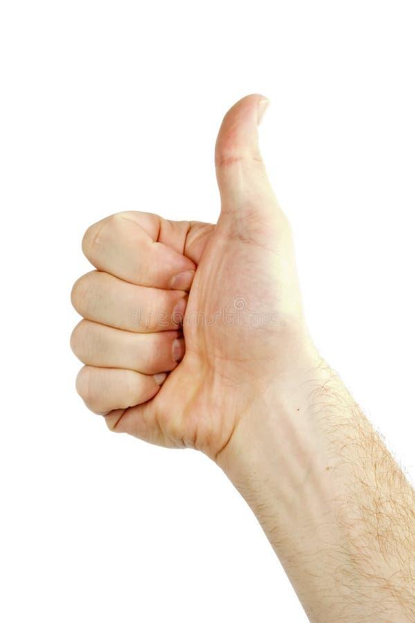 Download Polegares acima foto de stock. Imagem de positivo, homem - 534710