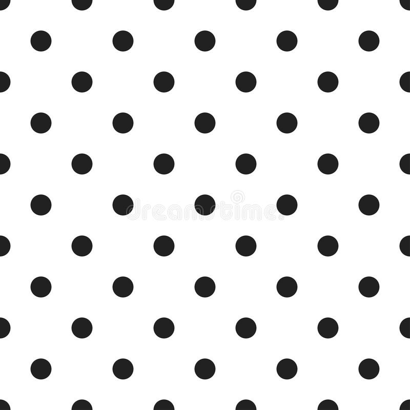 Polek kropek bezszwowy wzór ilustracji