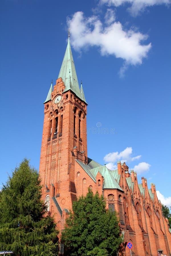 Polen - Bydgoszcz royalty-vrije stock afbeeldingen
