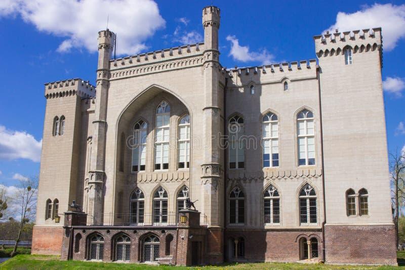 Polen, Grotere provincie Oud kasteel in Kornik stock foto's