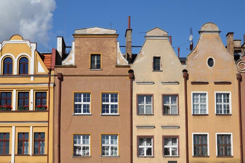 Polen - Grudziadz stock fotografie