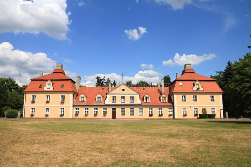 Polen - Kornik stock foto