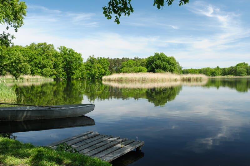Polen-Landschaft lizenzfreie stockbilder