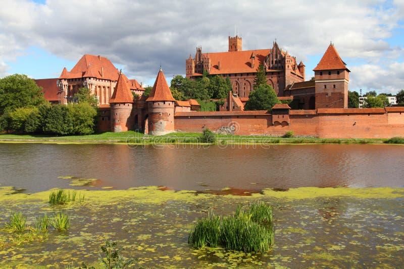 Polen - Malbork royalty-vrije stock afbeelding