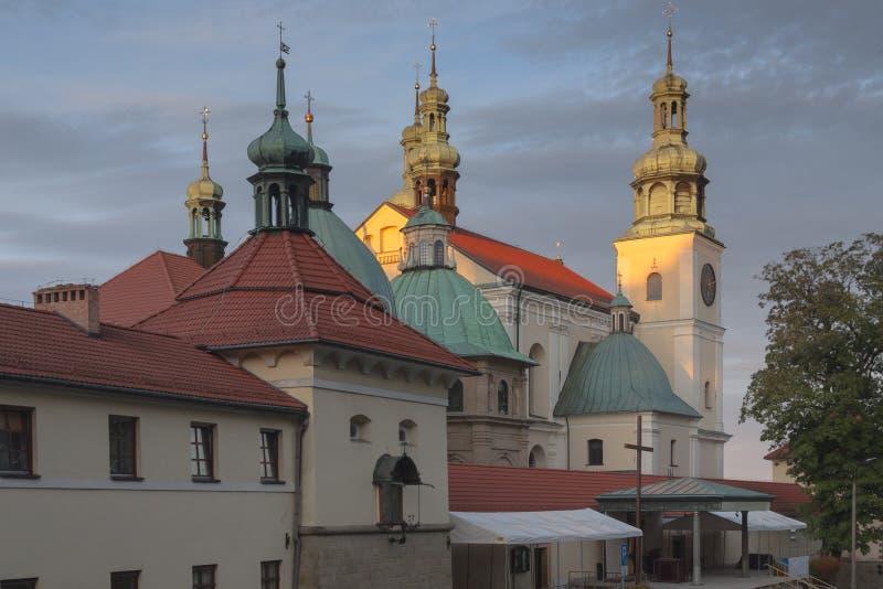 Polen, Malopolska, Kalwaria Zebrzydowska, Heiligtum lizenzfreie stockbilder