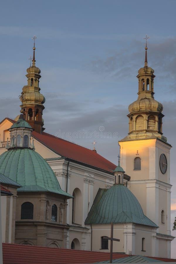 Polen, Malopolska, Kalwaria Zebrzydowska, Heiligtum stockfotos