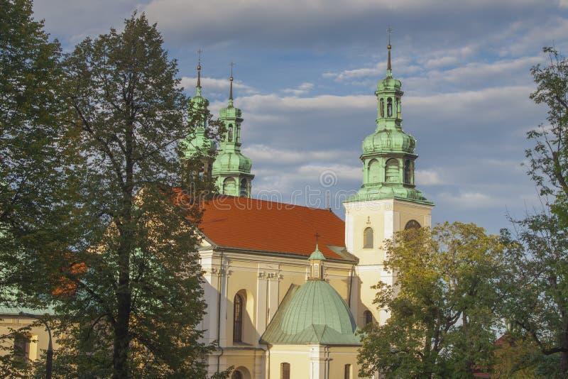 Polen, Malopolska, Kalwaria Zebrzydowska, Heiligtum stockfoto