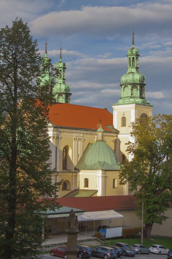 Polen, Malopolska, Kalwaria Zebrzydowska, Heiligtum lizenzfreie stockfotos