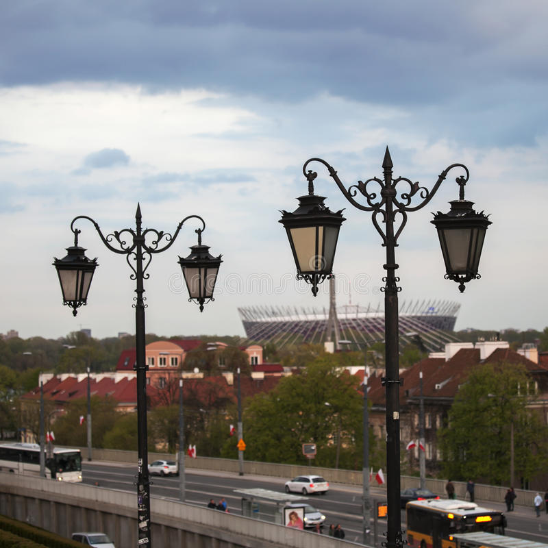Polen, Mazovia-Region, Warschau, Nationalstadion Warschau lizenzfreies stockfoto