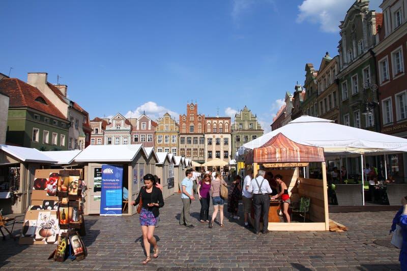 Polen - Poznan royalty-vrije stock foto's