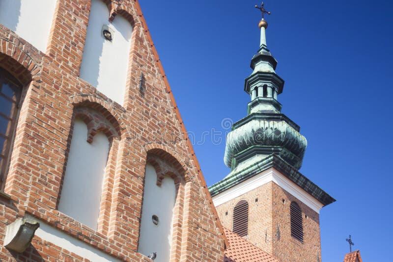 Polen, Radom, St Catherine Church stock foto's