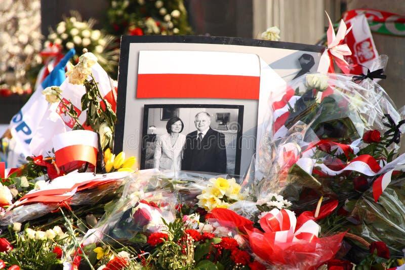 Polen rouwt. royalty-vrije stock fotografie