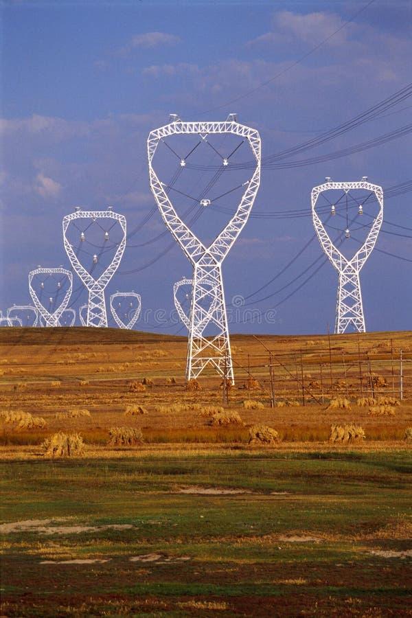 polen van elektriciteit royalty-vrije stock foto