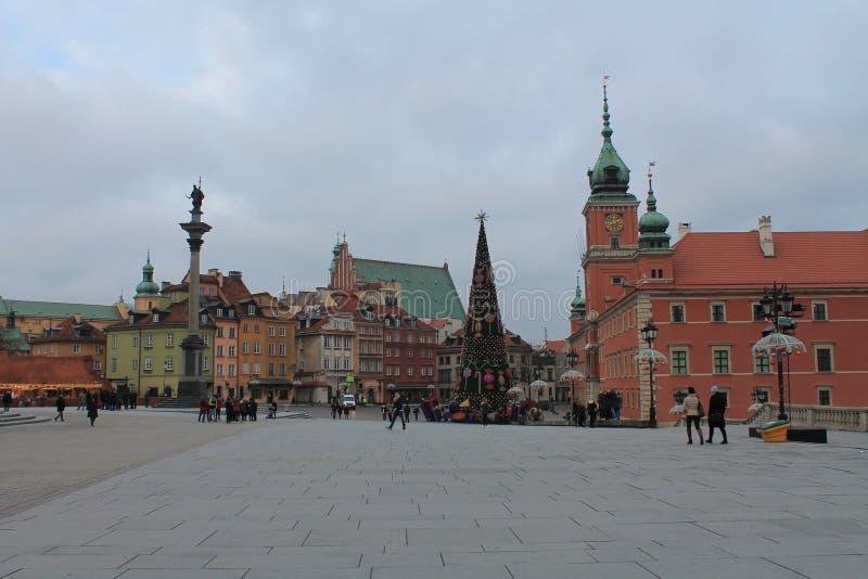 Polen Warszawa royaltyfria foton