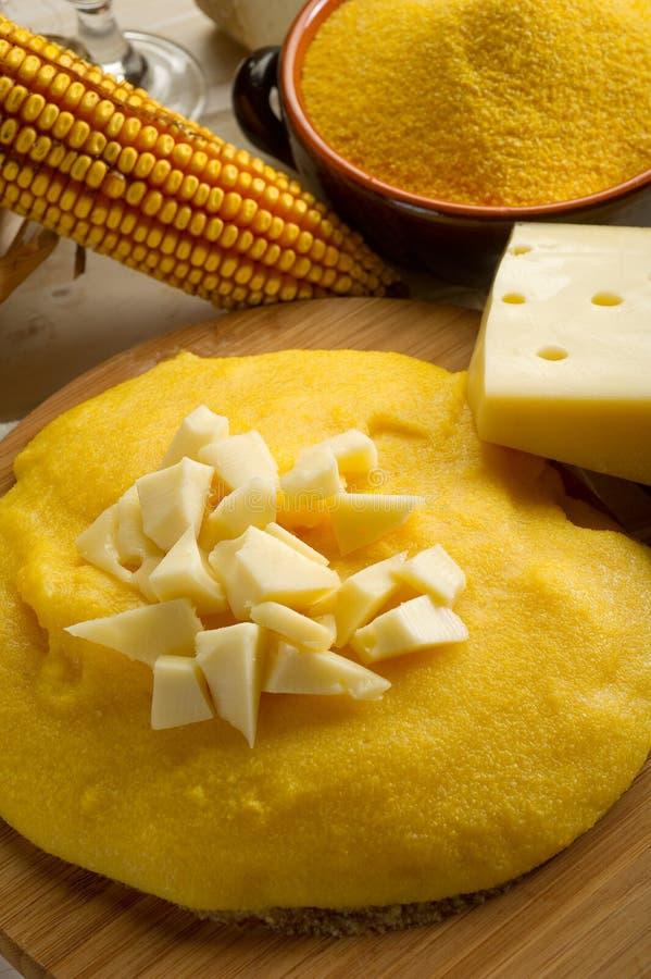 Free Polenta And Cheese Stock Photo - 16028400