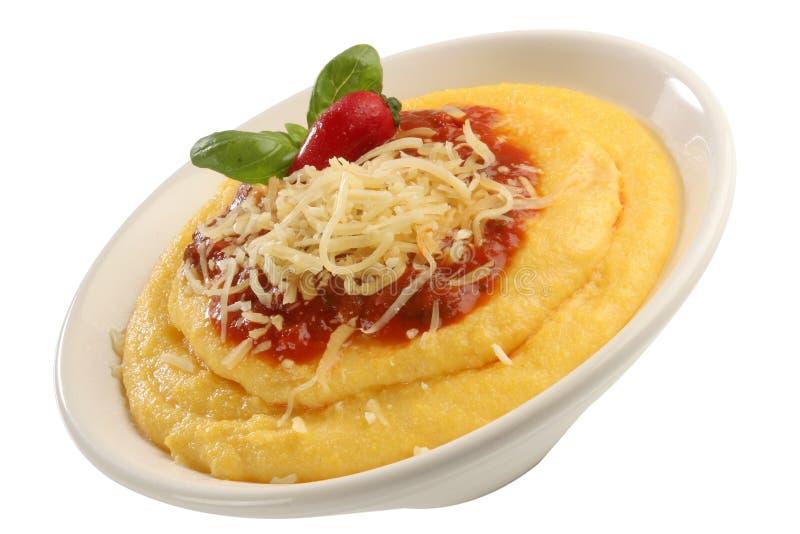 polenta włoskiej fotografia stock
