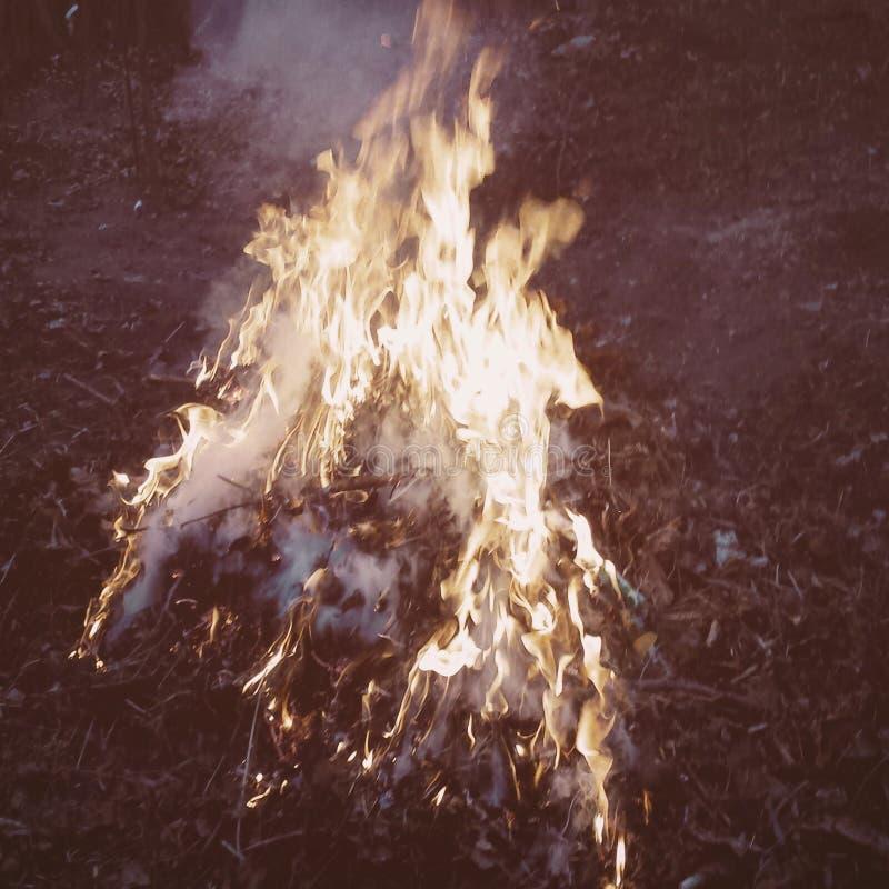 Polepsza ogienia zdjęcia stock