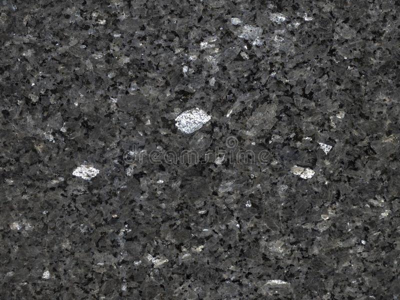 Polerad svart granit arkivfoton