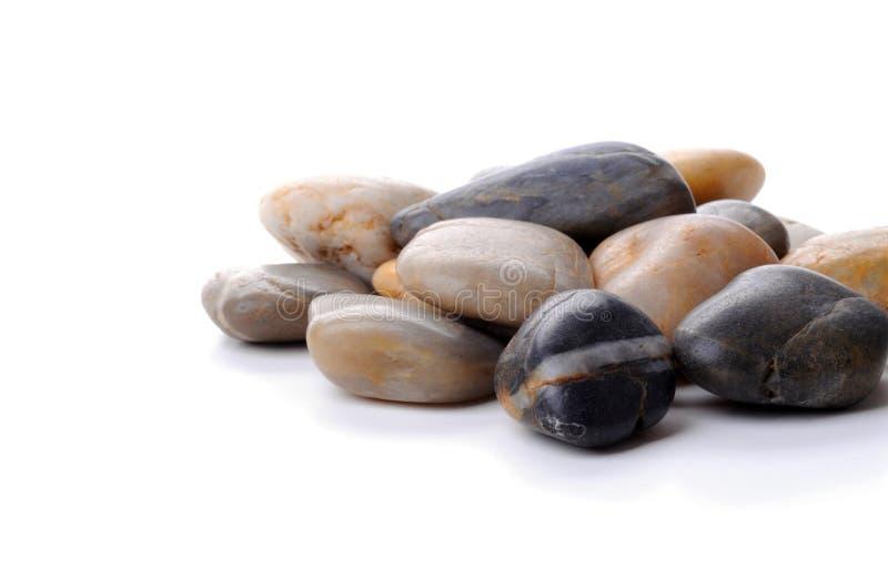 polerade rocks arkivfoto
