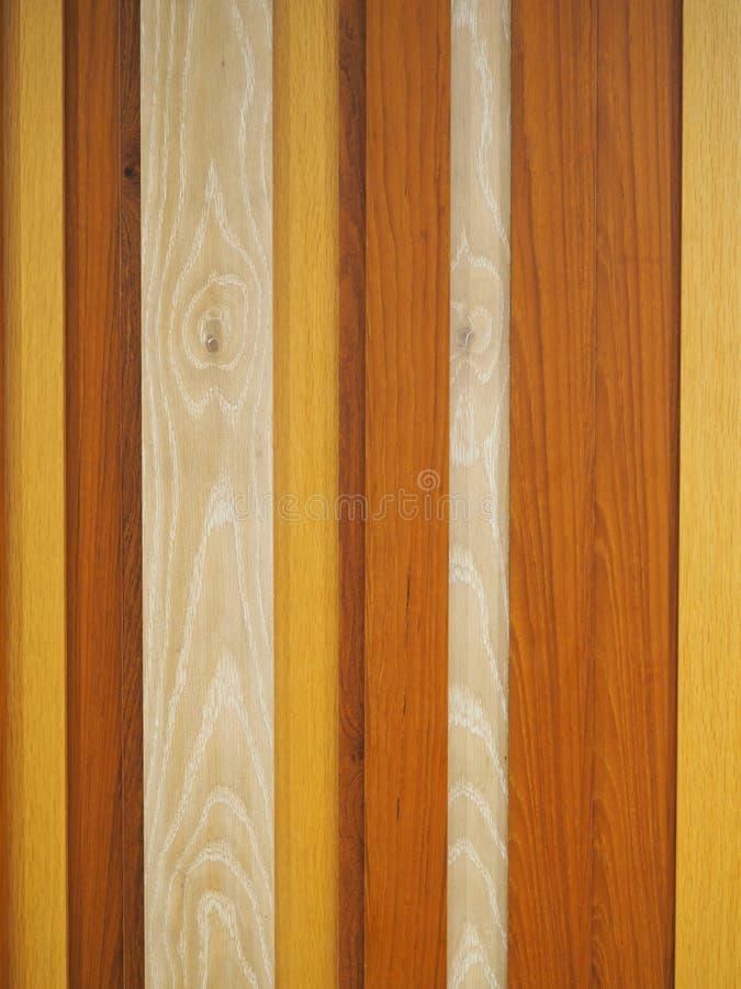 Polerat naturligt trä panels bakgrundsfotografiet arkivfoto