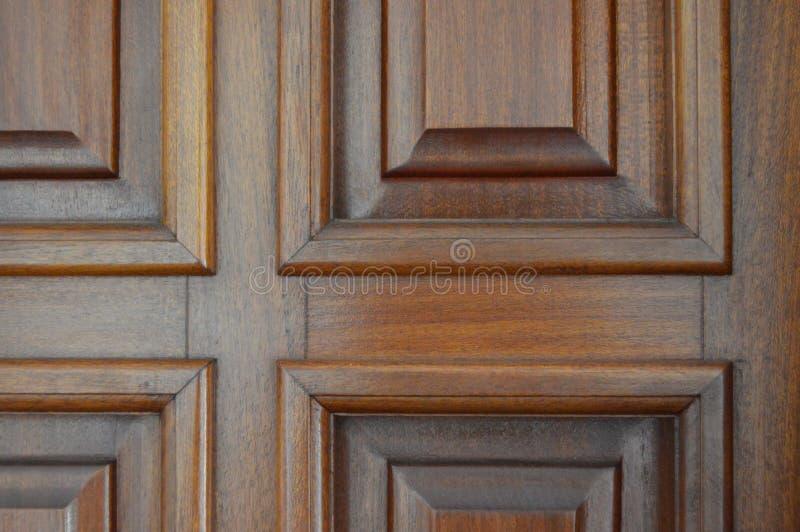 Polerat träfönster royaltyfri fotografi