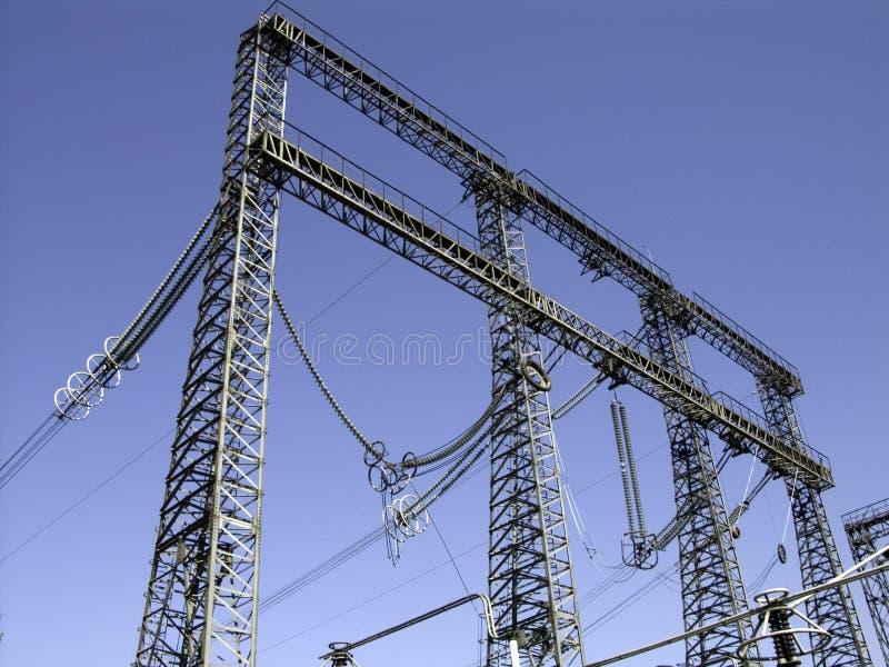 Poles_4 électrique photographie stock