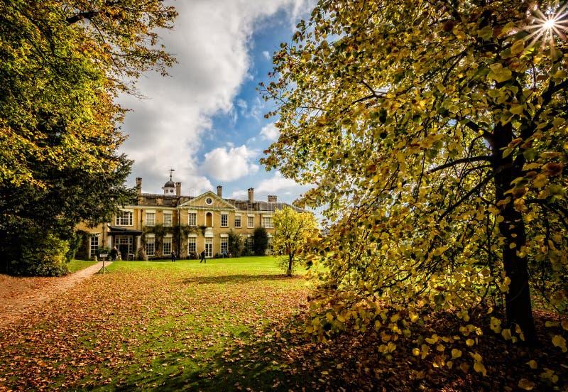 Polesden Lacey Country House en Landgoed in Grote Bookham, Dorking, Surrey, het UK stock foto